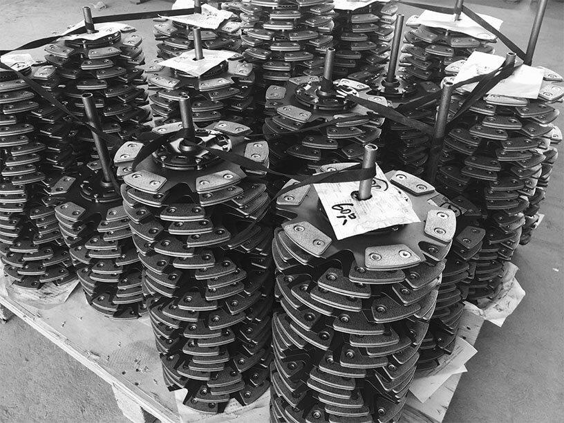 Speede 6-puck Ceramic Performance Clutch disc