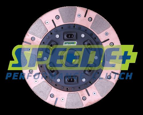 Stage 3 Performance Segmented Ceramic Clutch Disc Sprung Hub   Speede Clutch