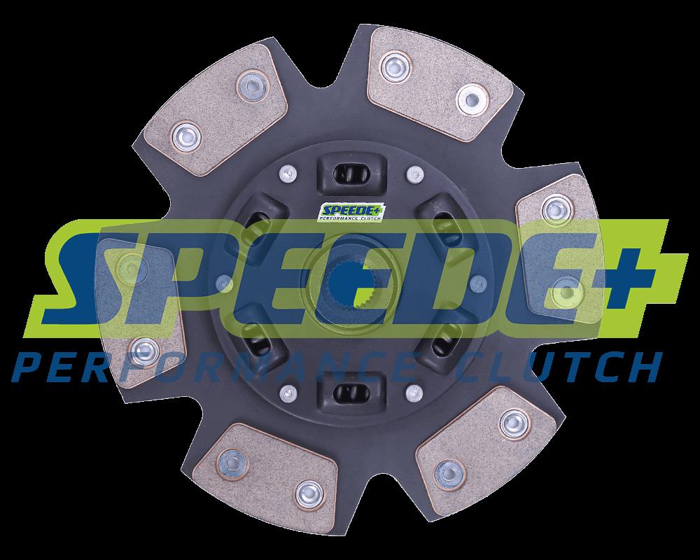 Stage 4 Performance 6-puck Ceramic Clutch Disc Sprung Hub   Speede Clutch